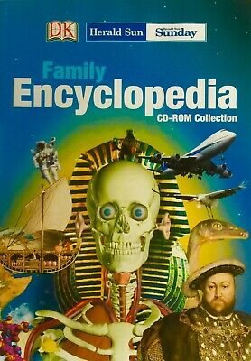 W1 Brand New Sealed - FAMILY ENCYCLOPEDIA - 9 CD-ROM COLLECTION (COMPLETE)