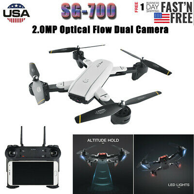 L800 RC Quadcopter With 2MP 720P Camera , WIFI FPV Foldable Selfie Drone RTF New