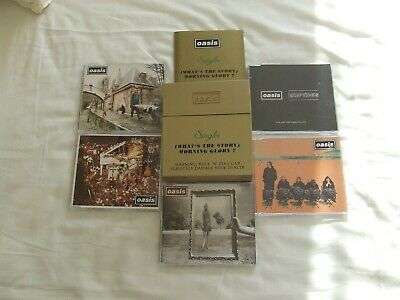 Oasis Whats The Story Morning Glorycd Single Box Set Gold Case