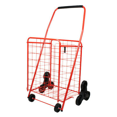 Helping Hand 3 Wheel Stair Climbing Cart Red