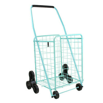 Helping Hand Shopping Cart Stair Climber, Teal