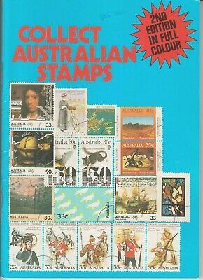 Collect Australian Stamps Catalogue 2nd Edition in full colour.New old stock.