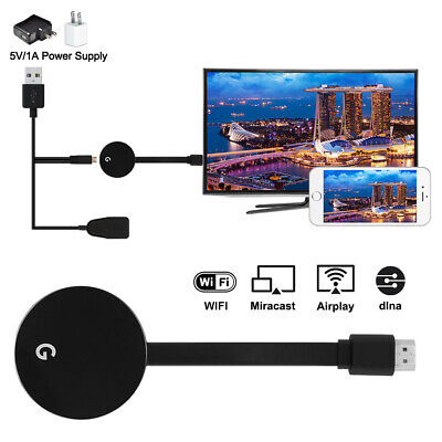 Miracast Airplay Ultra Premium TV 1080P Streaming Device HDR WiFi AH377