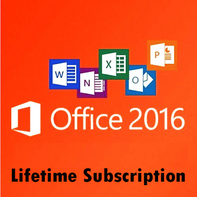Microsoft Office 2016 Pro Professional Plus 1PC 32/64 Bit | Lifetime Product Key
