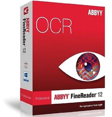 ABBYY FineReader Prof 12 PDF Editor For Windows 🔐License Key🔐Instant Delivery