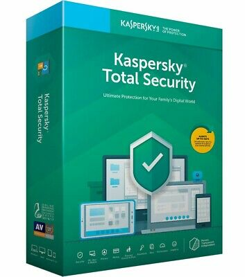 Kaspersky Total Security 2019 1 PC / 1 Year Fast Delivery Product Key Global
