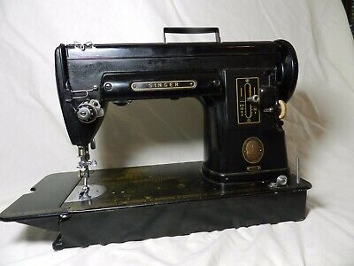 Singer 301A Sewing Machine Works As Is w/ Nice Case