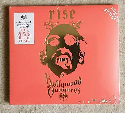 Hollywood Vampires - Rise (CD SEALED) ALICE COOPER JOE PERRY JOHNNY DEPP £9.99..