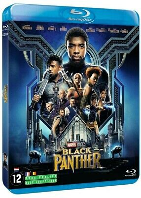 Blu-Ray BLACK PANTHER Marvel Film Super Héro Action Fantastique Neuf VF
