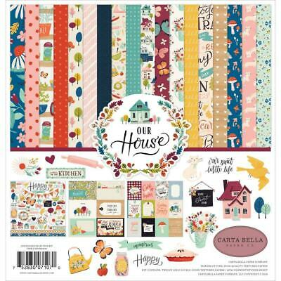 """Carta Bella Our House 12x12"""" Collection Kit  13pc Pack"""