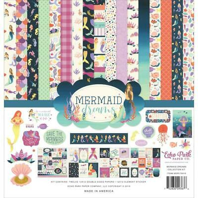 "Echo Park Mermaid Dreams 12"" Collection Kit  13pk"