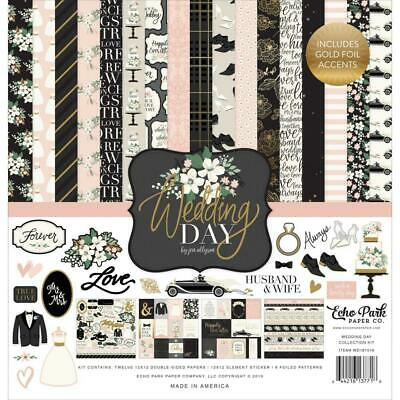 "Echo Park Wedding Day 12"" Collection Kit    13pc Pack"
