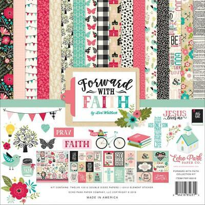 "Echo Park Forward With Faith 12"" Collection Kit  13pc Pack"