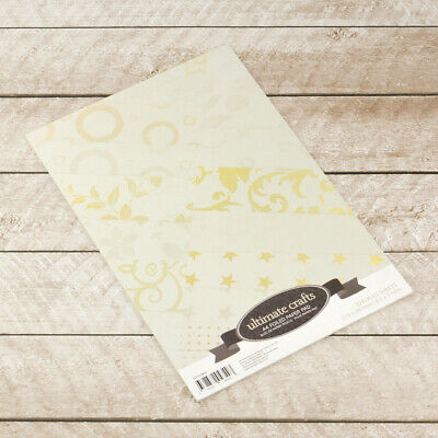 Ultimate Crafts Special Occasions A4 Foiled Paper Pad  20pg