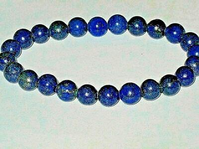 Lapis Bracelet Blessed PROTECTION MEDITATION CHANNELING ATTRACT WEALTH Amulet