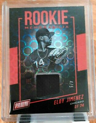 Eloy Jimenez RC SPP /5 😍 WOW! Panini National Convention Jersey Patch Pyramids