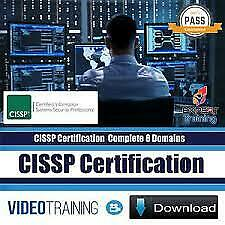 CISSP Certification Bootcamp 2019 Complete 8 Domains Video Training