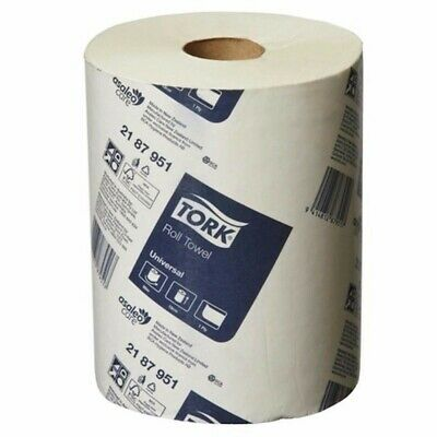 Tork Hand Towels Paper Towel Roll Bulk Industrial Kitchen White -16 Rolls