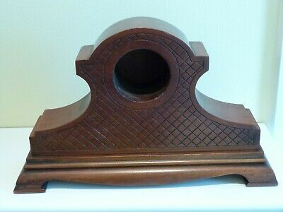 Mahogany Mantel Clock Case