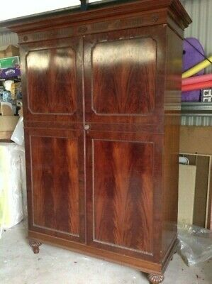 Victorian Robson & Sons Wardrobe,Dressing table, side cupboard,Newcastle-on-Tyne