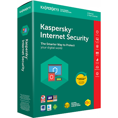 Kaspersky Internet Security Antivirus 2020 GLOBAL