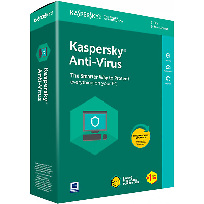 Kaspersky Antivirus 2020 1 YEAR GLOBAL