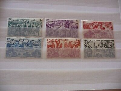 Lot  Collection   Timbres  Colonies  Fr   Cameroun  Pa  N 32 A 37  Neufs*
