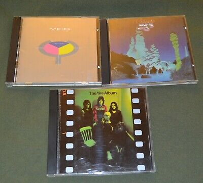 YES - THE YES ALBUM, classic yes and 90215 all japan CD OOP Rare