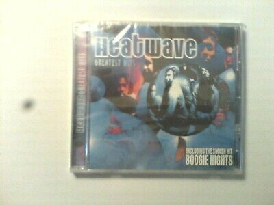 HEATWAVE:GREATEST HITS New & Sealed Cd Album