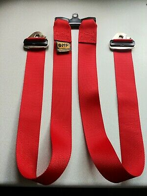 "OMP ""T"" Leg Harness Strap 2"" - Race Car Track Day"