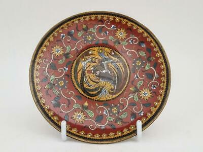 Antique 19th Century Japanese Cloisonne Dish / Plate