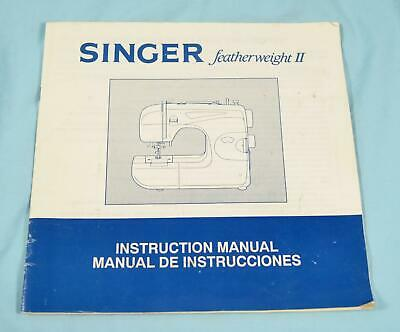Original Owners Manual - Singer Featherweight II Sewing Machine - Model 117