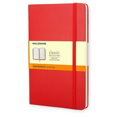 MOLESKINE | New Large Classic Ruled Notebook in Red QP060F2