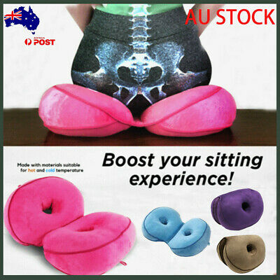 Au Dual Comfort Cushion Lift Hips Up Seat Cushion Pad Mat FREE FAST SHIPPING