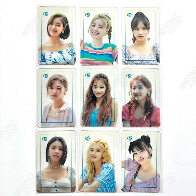 TWICE POPUP STORE Twaii's SHOP TRANSPARENT PHOTOCARD OFFICIAL AUTHENTIC