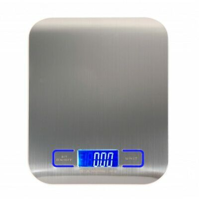 Portable Mini Digital Scale Kitchen Food Weight Stainless Steel Electronic LCD