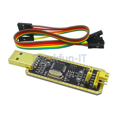 FT232 USB to Serial USB to TTL Upgrade Download/CH340G AdapterBrush Board Gold