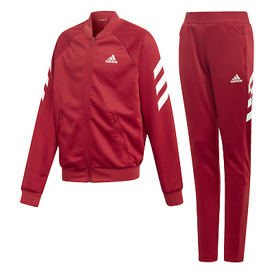 adidas Performance Kinder Trainingsanzug YG XFG TS active maroon