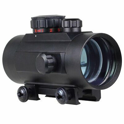 40mm Rouge / Vert Dot Tactique Vue Scope pour Rifle 20mm Weaver Rail Mount