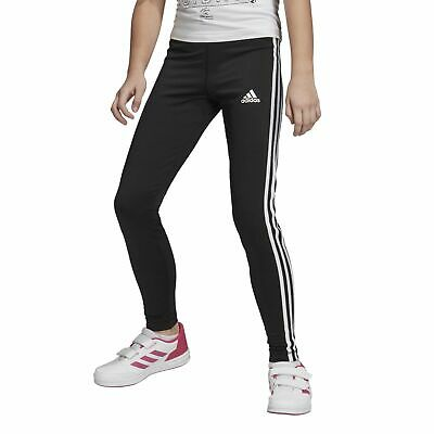 adidas Performance Mädchen Sport-Trainings-Legging Equip 3 Stripes Tight schwarz