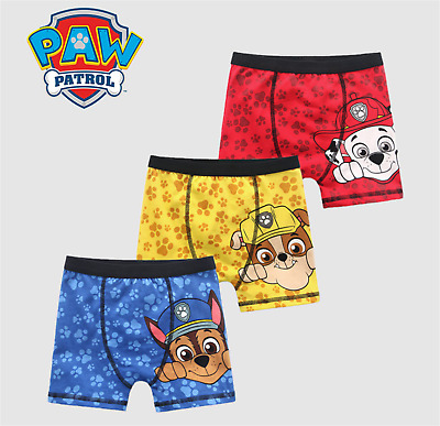 3 Pairs Kids boy children Paw Patrol Boxer Brief Shorts Panties Underwear Trunks