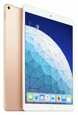 Apple iPad Air 2019 10.5 Inch 256GB Wi-Fi Tablet - Gold.
