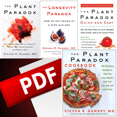 4 eBo0ks The Plant Paradox by Dr. Steven R Gundry M.D { MOBI }/{ P.DF } BY EMAIL