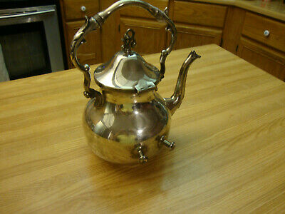 Antique Silverplated  Coffee Pot