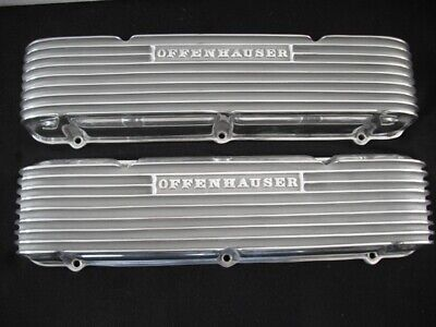 "OFFY ""4059 OLDSMOBILE 1959 thru ""64 FINNED VALVE COVER SET"
