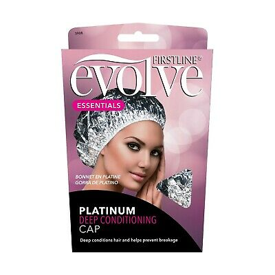 FIRSTLINE EVOLVE*(1) PLATINUM Prevents Hair Breakage DEEP CONDITIONING CAP #3908