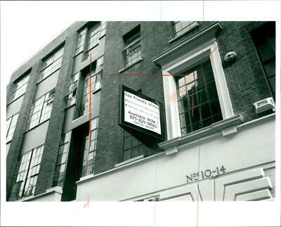 London: Gay Friendly Office - Vintage photo