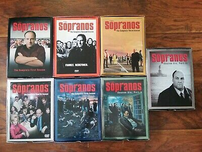 The Sopranos. The Complete Series. 28 discs. 1-6  season DVD