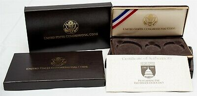 OGP For 1989 Congressional Commemorative Three-Coin Proof Set