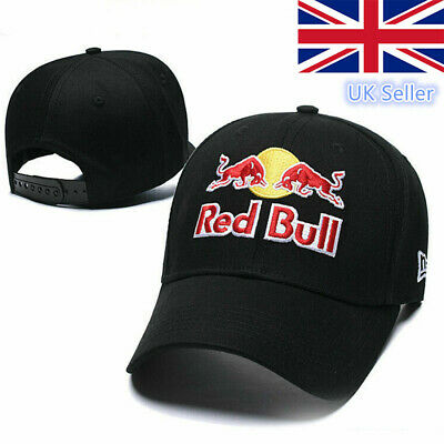 LogoRed Bull RACING Mens Baseball Cap F1 TEAM Cap Motor Sport Hat GIFT
